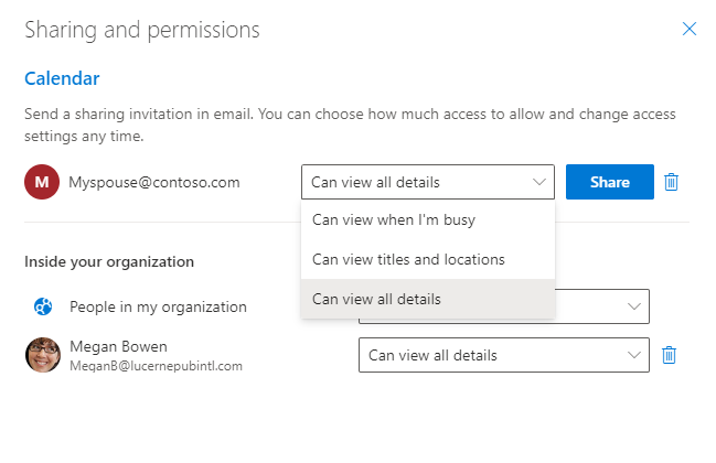 Image 3 - Share and manage permissions for your calendar